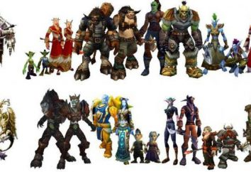 "leggendario gioco WarCraft. Caratteristiche, dispone di gara, ""Warcraft"""