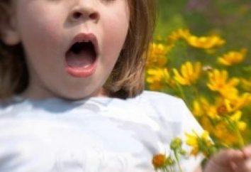Alergie u dzieci i jej główne przejawy