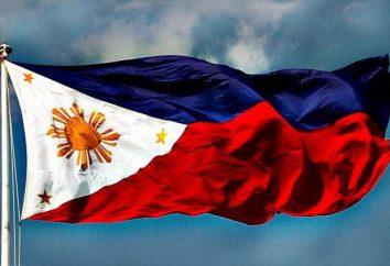 drapeau et des armoiries Philippines