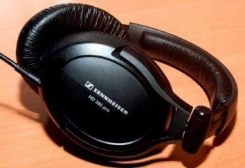Słuchawki Sennheiser HD 380 PRO: przegląd, specyfikacje i zdjęcia