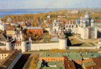 Ano de fundação de Rostov, o Grande, a primeira menção nos anais de 862 anos