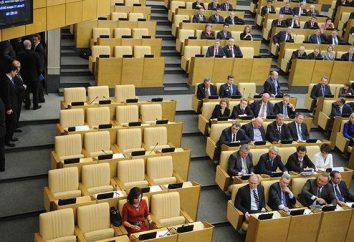 Wybory parlamentarne w Rosji: cechy i postępowanie