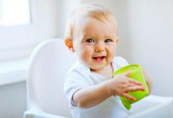 Como ensinar seu filho a beber de uma caneca: dicas e truques. Pratos para crianças