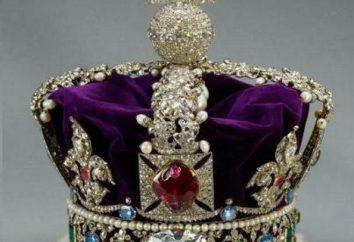 Coroa Imperial: a história da criação. A coroa do Império Britânico eo russo