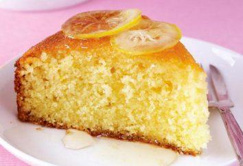 Köstliche Zitrone Manna. Kochrezepte
