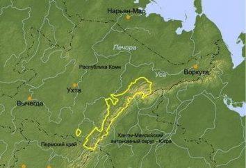 Gdzie Vorkuta znajduje się na mapie Rosji