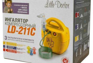 Compressor nebulizador LD-211C Doutor pequeno: instrução, comentários