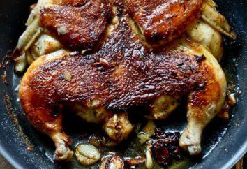 """""""Tabaco de pollo en la sartén"""": una receta clásica y notas de cocina"""