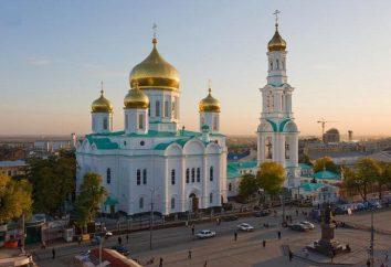 As áreas urbanas em Rostov-on-Don