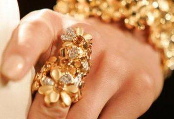Come determinare quale sogna di gioielli d'oro?