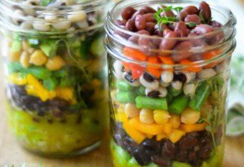 insalata a strati in inverno: alcune ricette interessanti
