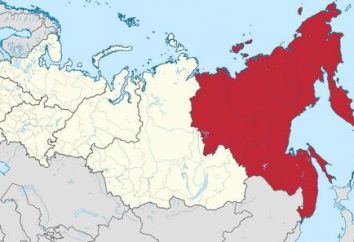 Lejano Oriente ruso. La ciudad del Lejano Oriente ruso (la lista)