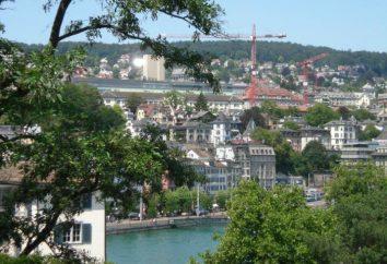 Zürich – Sehenswürdigkeiten. Zürich, Schweiz – Sehenswürdigkeiten