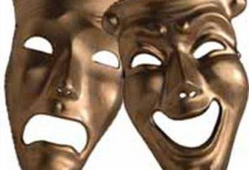 Jakie są maski teatralne