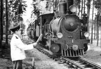 Férias com crianças: Railway infantil em Kratovo