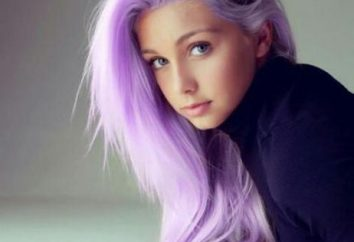 Peindre les cheveux violet: revue, nuances, les fabricants et les commentaires