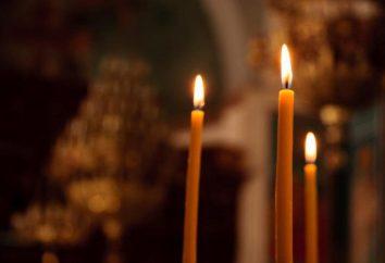 Das Gebet für die Ruhe der Seele des Verstorbenen