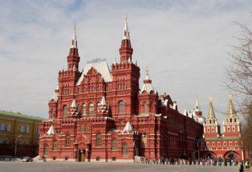 Muzeum Historyczne stan na Placu Czerwonym w Moskwie, godziny otwarcia, opinie. Muzeum Lenina w moskiewskim Placu Czerwonym