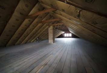 Comment faire le plancher du grenier? Caractéristiques de l'appareil