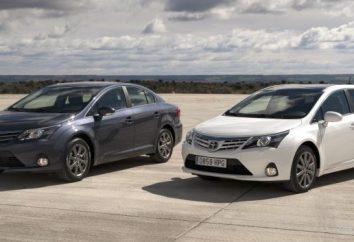 "Opis i charakterystyka techniczna ""Toyota Avensis"""