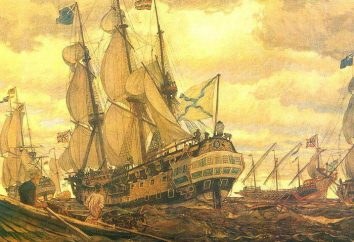 Perski kampania Piotra 1 (1722/23). Wojna rosyjsko-perska