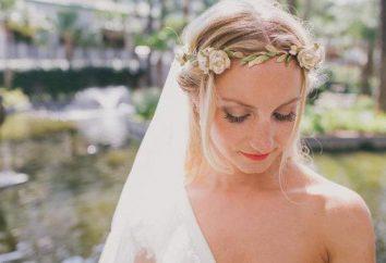 Jak zrobić ślubny wieniec na głowie panny młodej własnymi rękami?