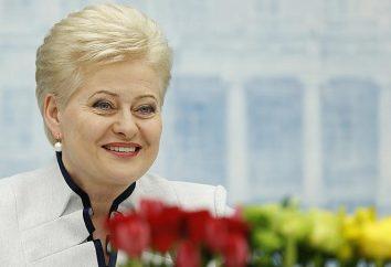 Biografia Dalia Grybauskaite. Kariera polityczna i życie osobiste