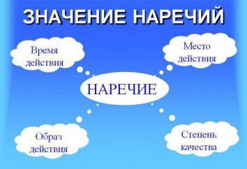 Ce qui est différent dialecte des autres parties du discours. Et les principales caractéristiques des rejets