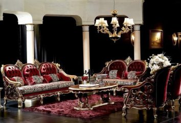 Móveis de sala de estar modernos – elegância italiana