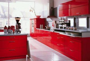 Rote Küche – rufen Routine