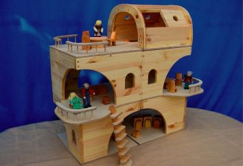 Wie man ein Haus für Puppen mit ihren eigenen Händen machen? Großes Haus mit Möbeln für Barbie-Puppen