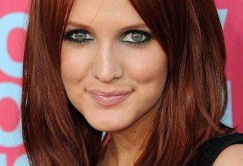 Haarfarbe dunkel Kupfer: Foto und Farbauswahl
