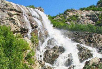 Alibeksky chutes: description et les photos