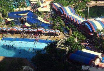 O maior parque aquático em Antalya