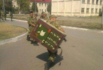 Des blagues dans l'armée: notre pays ne peut être vaincu!