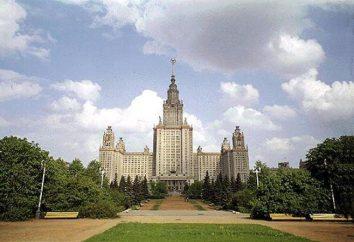 Ocena Moskwa uniwersytety. Najlepszych uniwersytetów w Moskwie