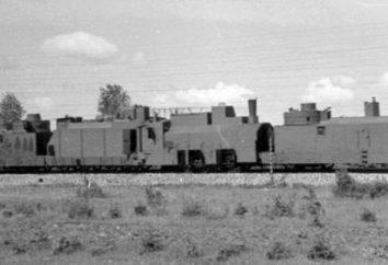la historia blindado tren de ferrocarril, descripción, foto
