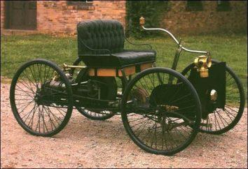 Les premières voitures dans le monde