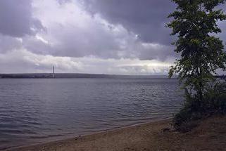 """Pension """"Bylina"""" (Novosibirsk), às margens do Golfo do Berd"""