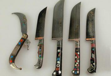 Usbekisch Messer: wie es sein sollte