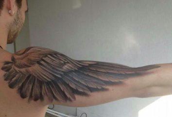 Błotniki na ramieniu: tatuaż, który pasuje do wszystkich
