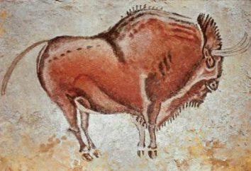 Pinturas de los pueblos antiguos. tallas de piedra antiguas