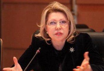 Panina Elena Vladimirovna: biografía, la actividad política