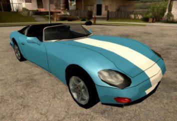 """Appello, velocità, prezzo e il nome della macchina in """"GTA: San Andreas"""""""