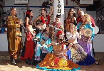 Różne tańce cygańskie