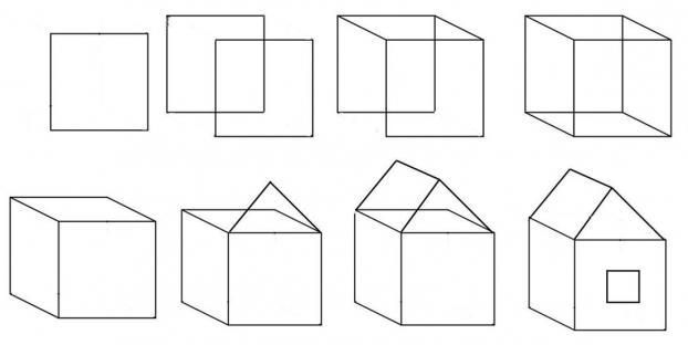 Comment Dessiner Une Maison En Projection Isomtrique Et La