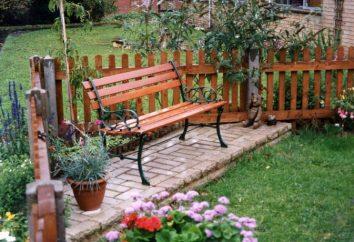 To ważne, ławki ogrodowe
