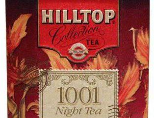 """Herbata """"Hilltop"""": szczegółowy opis i asortyment"""