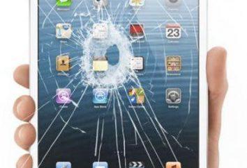 Como é o Mini iPad na substituição de vidro? Centros de Serviços da Apple