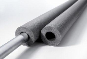 izolacja rurowa wykonana z pianki polietylenowej
